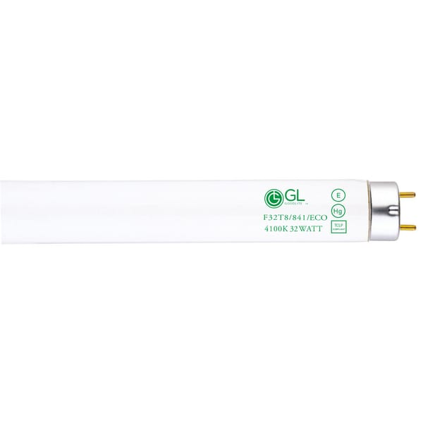 Goodlite F32T8/841/ECO 32W 48-inch T8 Fluorescent Tube Lights Cool White 4100k (Pack of 30)
