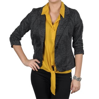 T by Hailey Jeans Co. Women's Half-sleeve Cropped Jacket