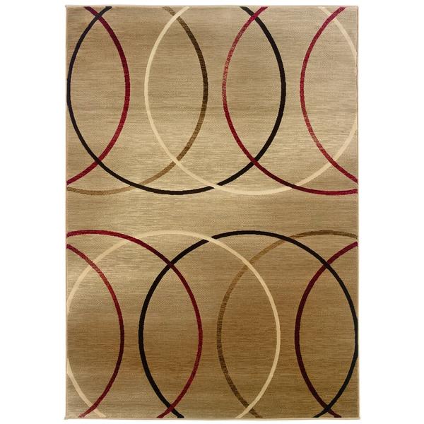 Somette Western Elegance Lasso Cool Area Rug (9'x12'2)