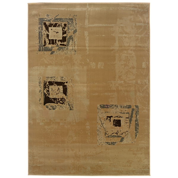 Somette Western Elegance Fossil Delight Clay Area Rug (9' x 12'2)
