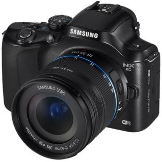 Samsung NX20 20.3MP Mirrorless Digital Camera with 18-55mm Lens
