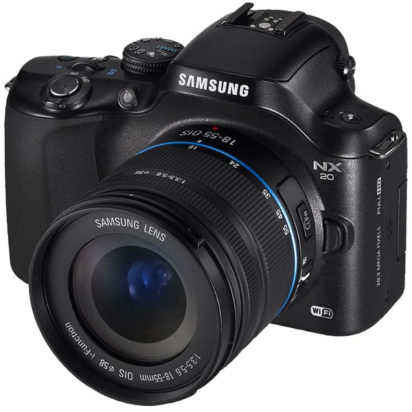 Samsung NX20 20.3MP Mirrorless Digital Camera with 18-55mm Lens