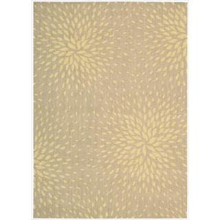 Capri Beige Wool-blend Rug (9'6 x 13')
