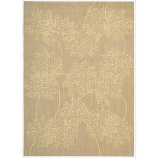 Capri Sand Wool-blend Rug (5'3 x 7'5)