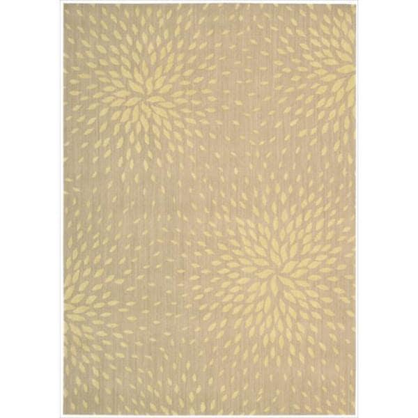 Capri Beige Wool-blend Rug (5'3 x 7'5)
