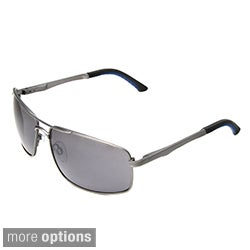 Hot Optix Men's Metal Rectangular Aviator Sunglass