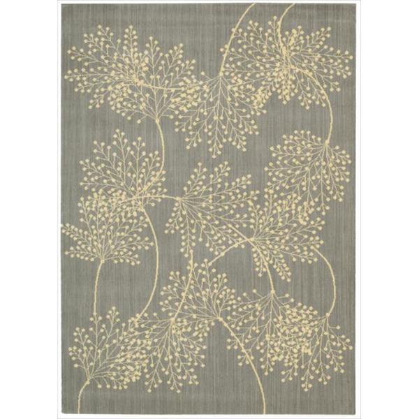 Capri Slate Wool-blend Rug (7'9 x 10'10)