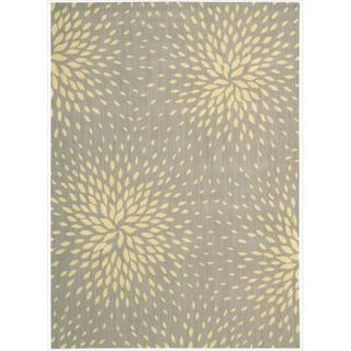 Capri Grey Wool-blend Rug (9'6 x 13')