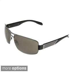 Hot Optix Men's Large Metal Aviator Sunglasses