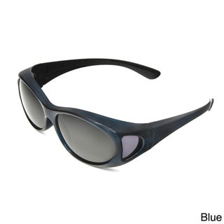 Hot Optix Women's Polarized Over-the-Glass Wrap Sunglass