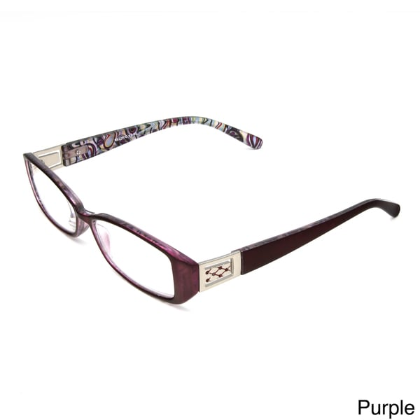 Hot Optix Women's Jewel Temple Reading Glasses