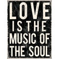 Louise Carey 'Love Is The Music' Paper Print (Unframed)