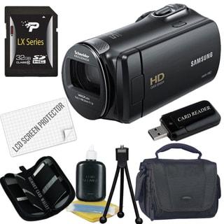 Samsung HMX-F80 HD Digital Camcorder with 32GB Bundle