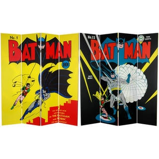 DC Comics Batman/ Robin 6-foot Canvas Room Divider