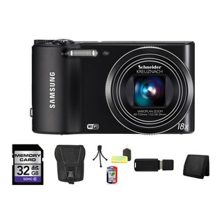 Samsung WB150F SMART 14MP Digital Camera with 32GB Bundle