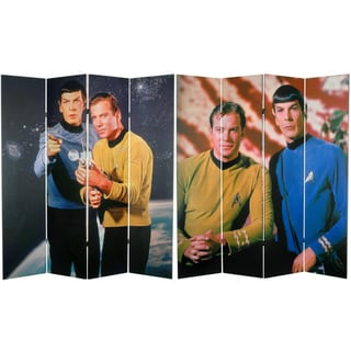 Star Trek Kirk/ Spock 6-foot Canvas Room Divider (China)