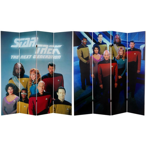 Star Trek: The Next Generation 6-foot Canvas Room Divider