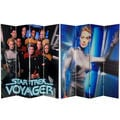 Star Trek Voyager 6-foot Canvas Room Divider