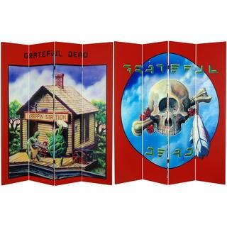 Grateful Dead Terrapin Station 6-foot Canvas Room Divider