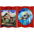 Grateful Dead Terrapin Station 6-foot Canvas Room Divider