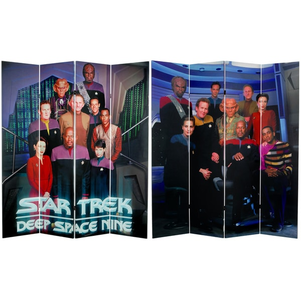 Star Trek: Deep Space Nine 6-foot Canvas Room Divider