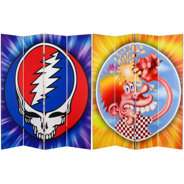 Grateful Dead Steal Your Face 6-foot Canvas Room Divider