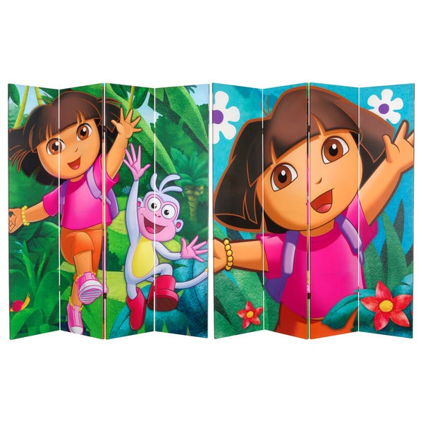Dora the Explorer 6-foot Canvas Room Divider (China)