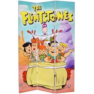 Flintstones 6-Foot Canvas Room Divider