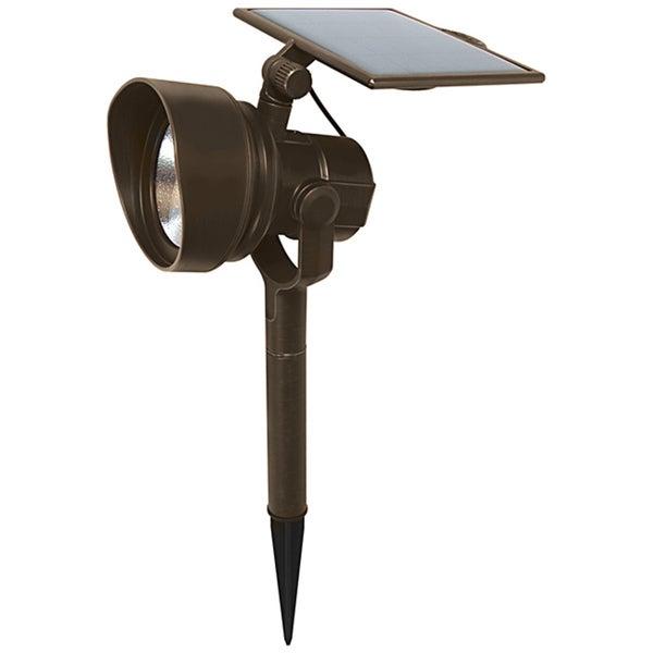 malibu solar 54 lumen solar orb spotlight
