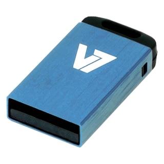 V7 16GB Blue Nano USB Flash Drive