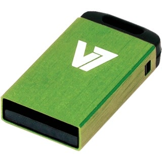 V7 32GB Green Nano USB Flash Drive