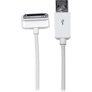 StarTech.com 1m (3 ft) Down Angle Apple? 30-pin Dock Connector to USB