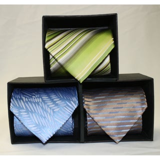 Ferrecci Microfiber Neckties (Pack of 3)
