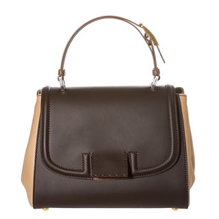 Fendi 8BN234 00C39 F0XRV Silvana Colorblock Leather Satchel