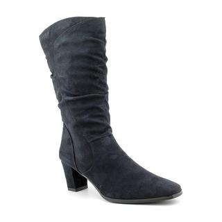 Easy Street Women's 'Vail' Regular Suede Boots (Size 6.5)