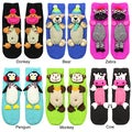 Angelina Animal Anti-slip Socks (Size 9-11)