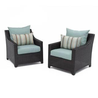 RST Outdoor Bliss Patio Furniture Club Chairs (Set of 2)