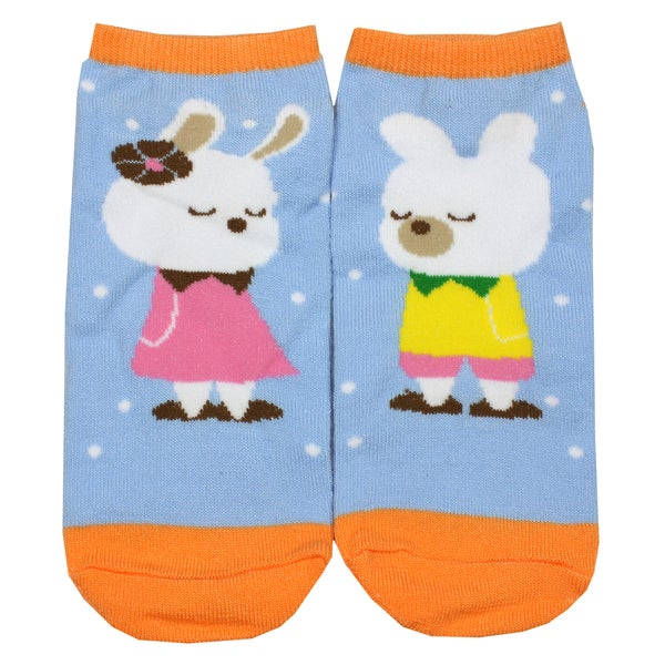 Angelina Creative Bunny Fun Design Ankle Socks