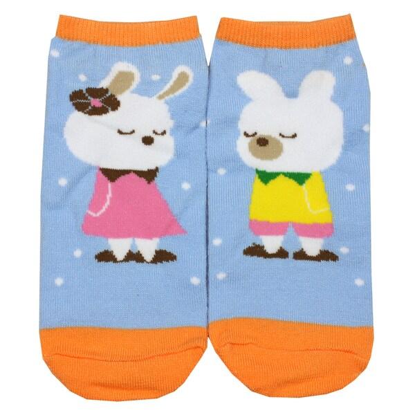 Angelina Creative Bunny Fun Design Ankle Socks