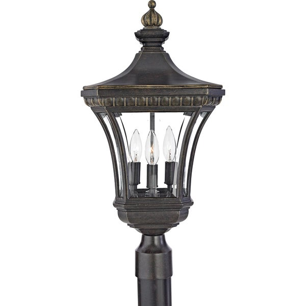 Quoizel Devon Medium Post Lantern