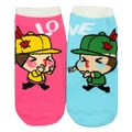 Angelina Creative Love Fun Design Ankle Socks