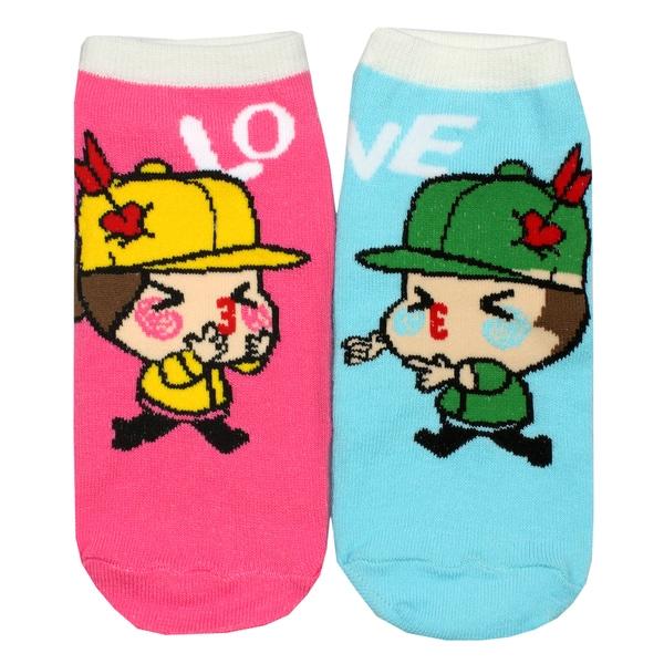 Angelina Creative Love Fun Design Ankle Socks