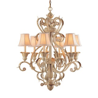 Winslow 6-light Champagne Chandelier