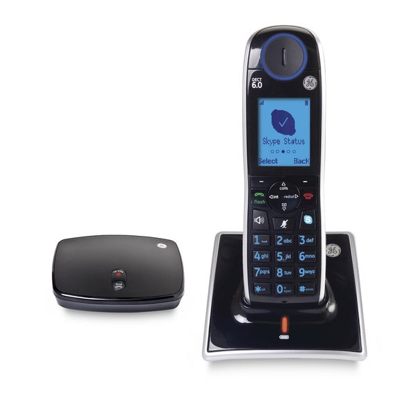 GE-31591GE1 Cordless Skype Phone w/ DECT 6.0 Digital Technology (Refurbished)