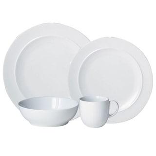 Denby White 16 -piece Tableware Set