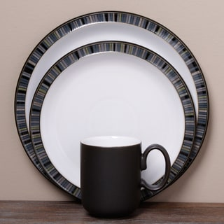 Denby Jet Stripes 12-piece Tableware Set