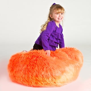 Christopher Knight Sullivan Children's Faux Fur Bean-bag Lounge Chair