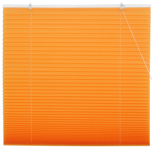 Tangerine Pleated Shades (China)