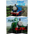 4-Foot Tall Double Sided Thomas and Percy Canvas Room Divider