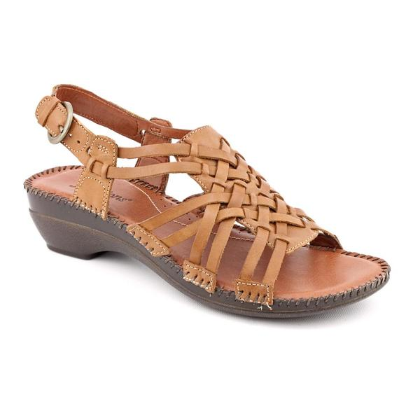 Auditions Women's 'Samba' Leather Sandals - Narrow (Size 9.5)